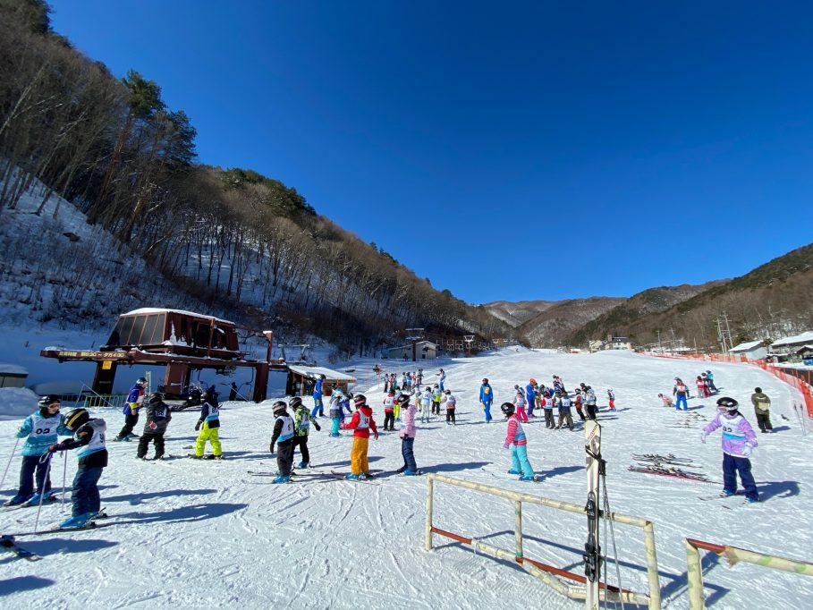 くらんぼクラブとスキー教室