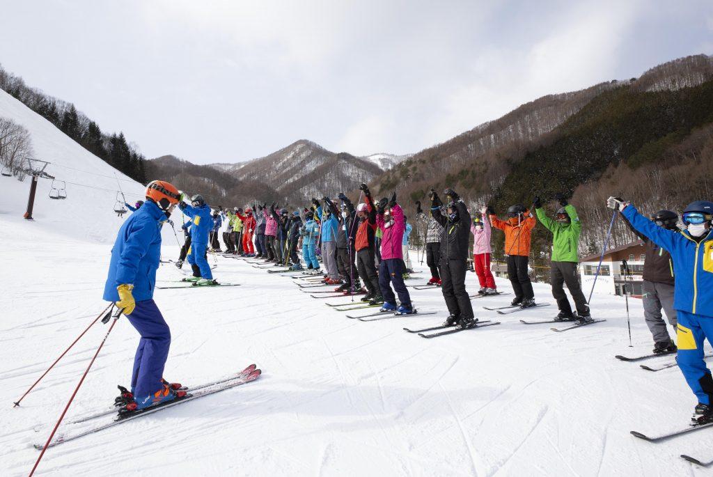 くらんぼクラブスキー教室開催!