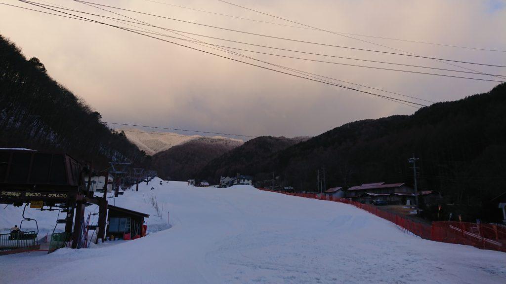 3月3日 寒い朝。