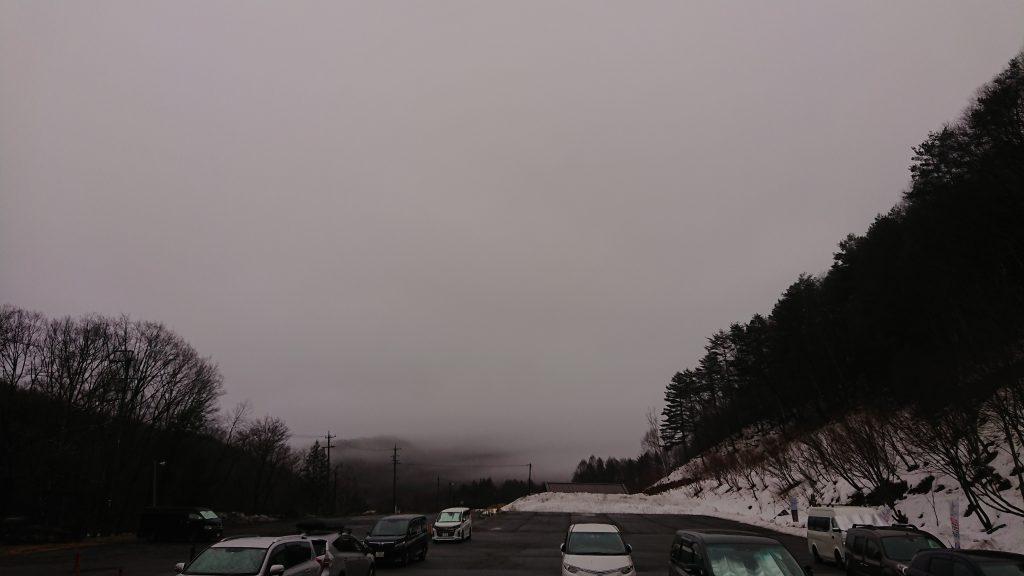 3月6日 曇り空。